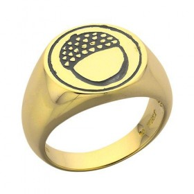 The Hobbit An Unexpected Journey Acorn Signet Ring