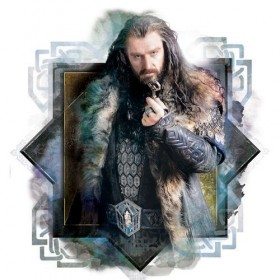 Official Licensed The Hobbit Thorin's Dwarven Ring