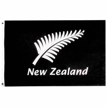 New Zealand Silver Fern Flag 5' x 3'
