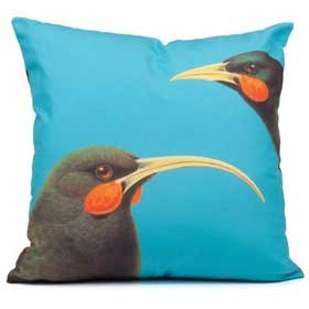 Bright New Zealand Huia Cushion Cover