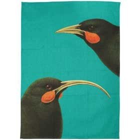 Bright New Zealand Huia Tea Towel