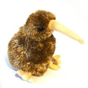Brown Kiwi Soft Toy with Sound