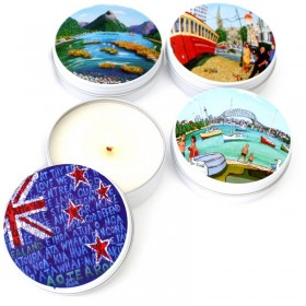 Portraits of New Zealand Candle Tins