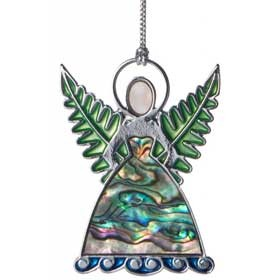 South Pacific Silver Fern Fairy Christmas Decoration