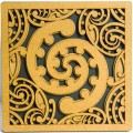 Wooden Toru Tile Art Front