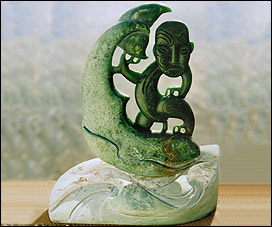 Greenstone Carving